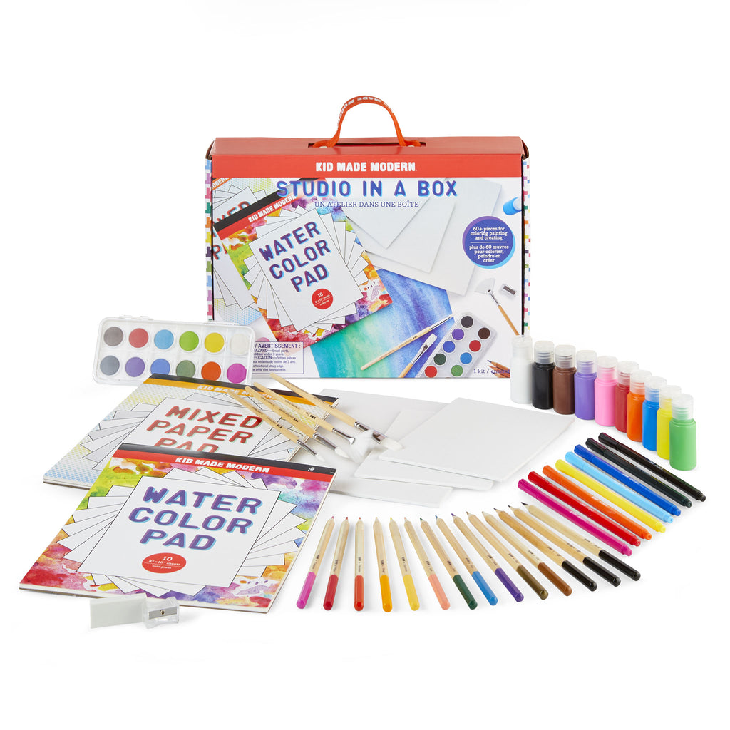 Kid made modern Make A Picture Frame Craft Kit w paint /& wooden frame