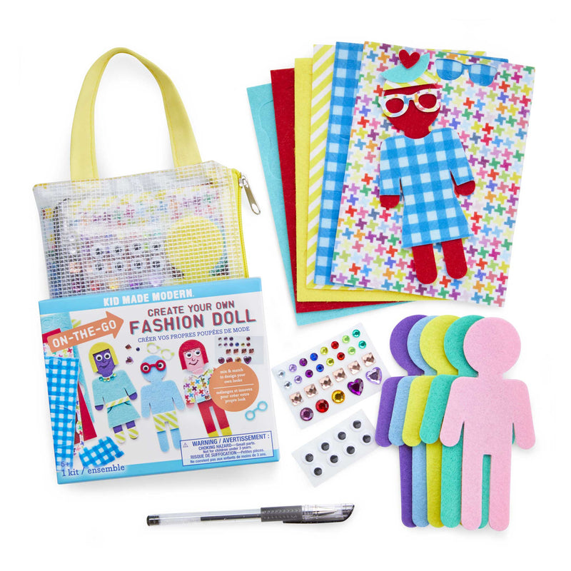On-The-Go Fashion Doll Kit