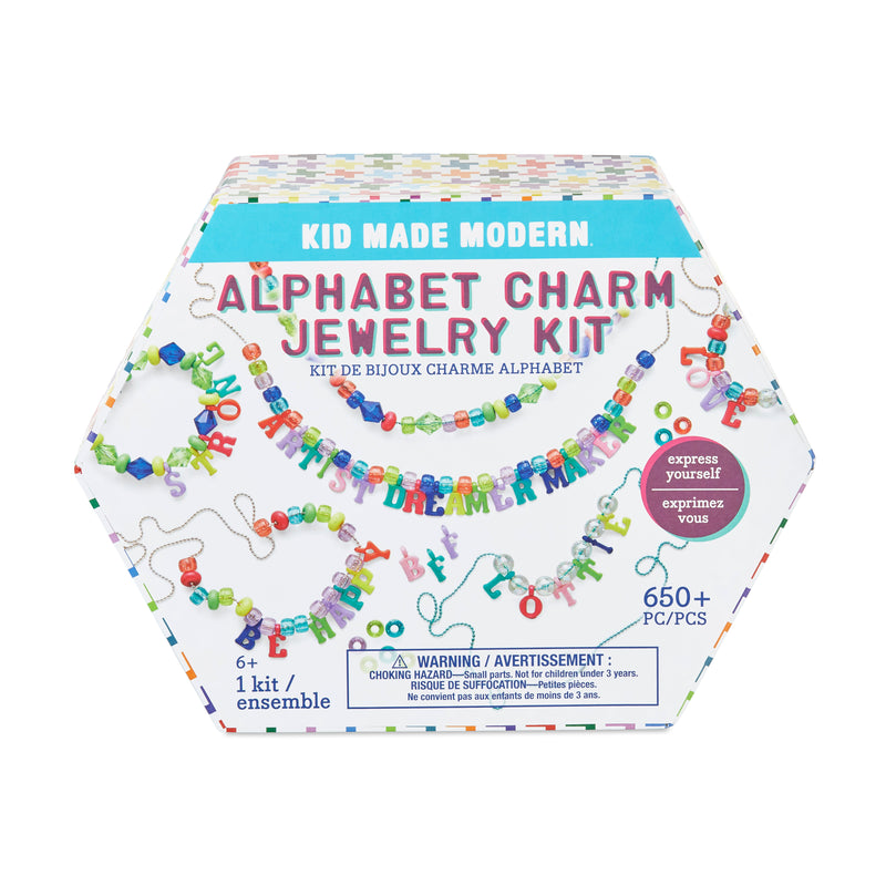 Alphabet Charm Jewelry Kit