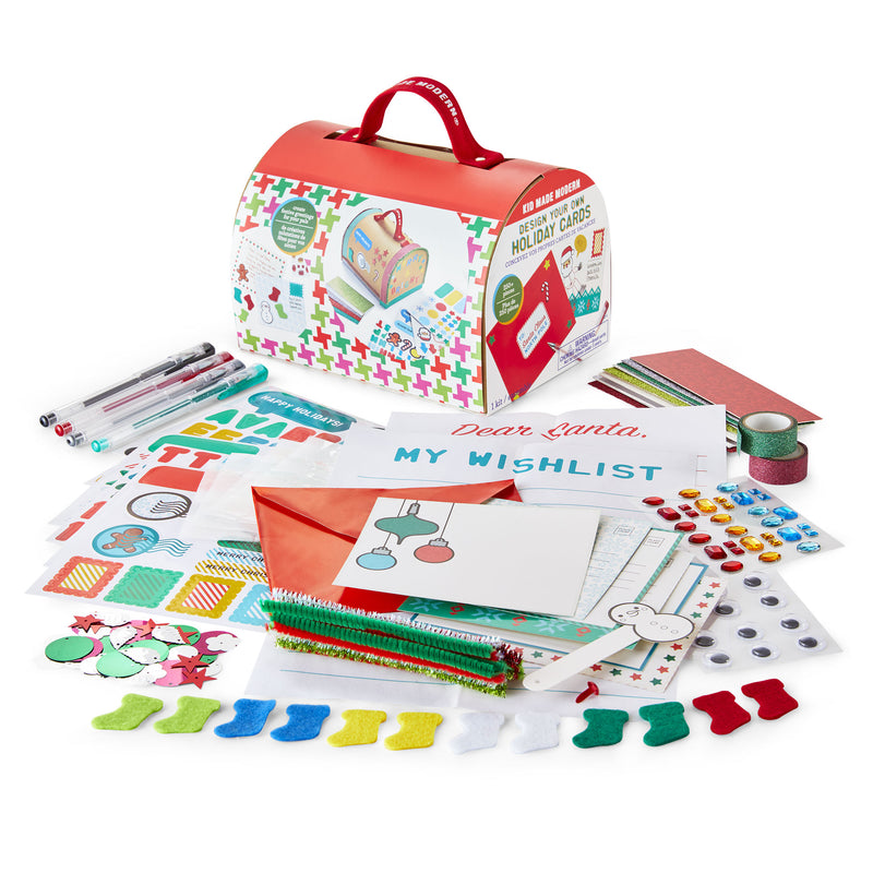 Design Your Own Holiday Cards Craft Kit
