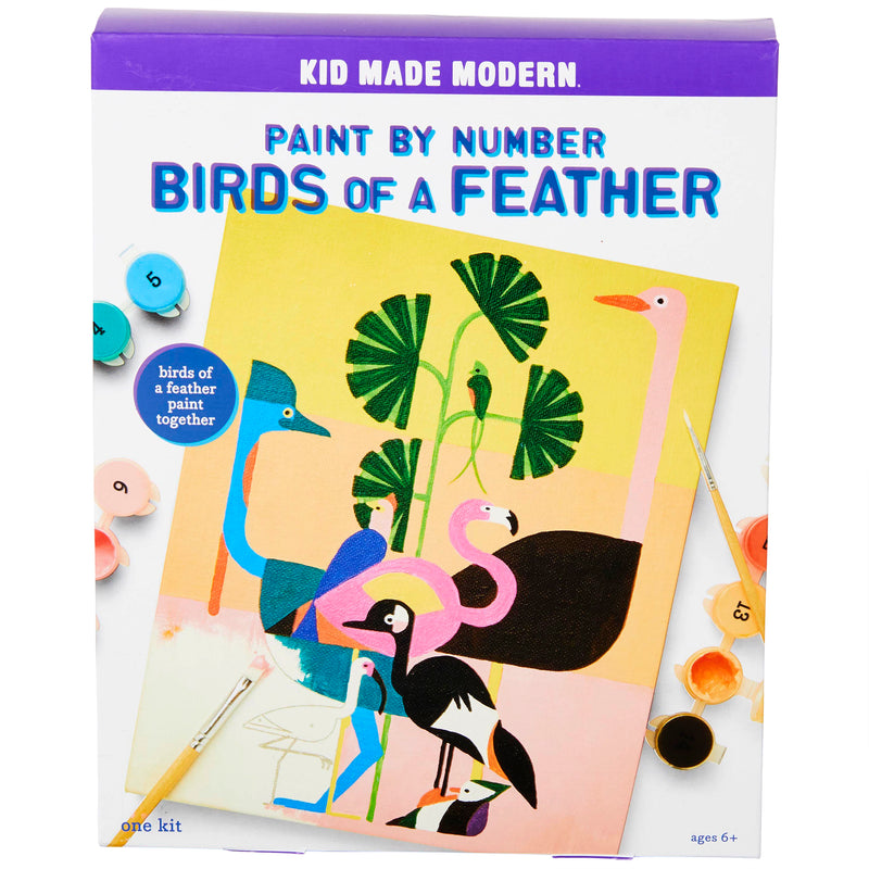 Paint By Number Kit: Birds of a Feather