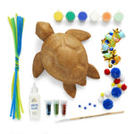 Paint Your Own Paper Mache Turtle