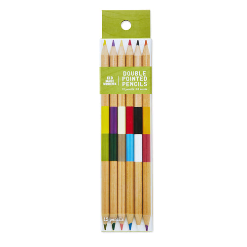 Double-Pointed Colored Pencils
