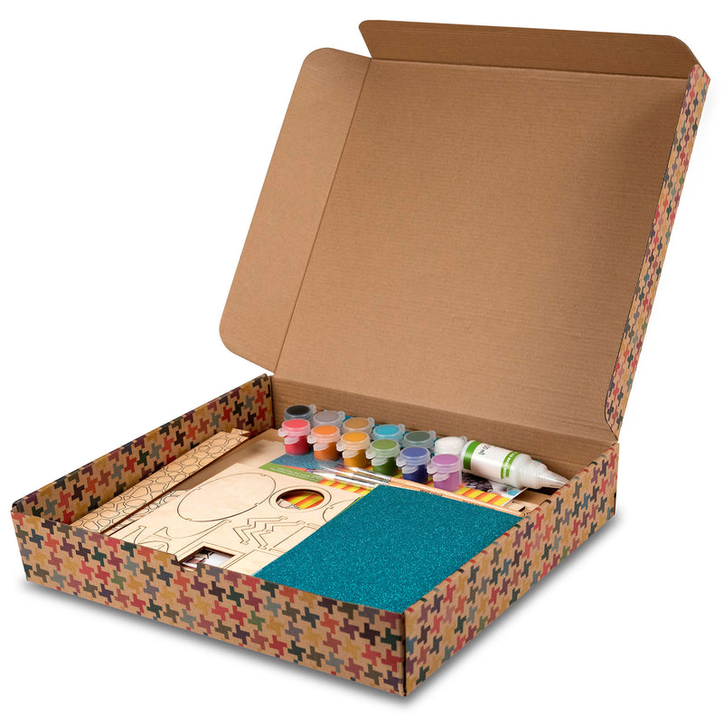 Kids Arts and Crafts Build a House Craft Kit