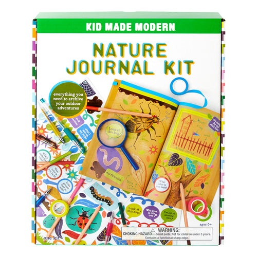 Nature Journal Kit 815219027829 $19.99 Kits Kid Made Modern $19.99