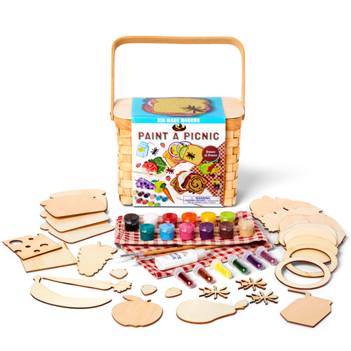 Paint a Picnic Craft Kit 815219023715 $19.99 Kits Kid Made Modern $19.99