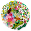 kids petal party flower-inspired jewelry making arts & crafts kit