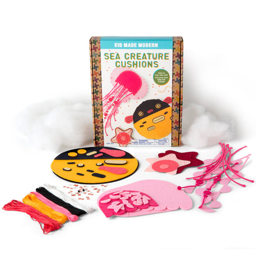 Sea Creature Cushions Craft Kit