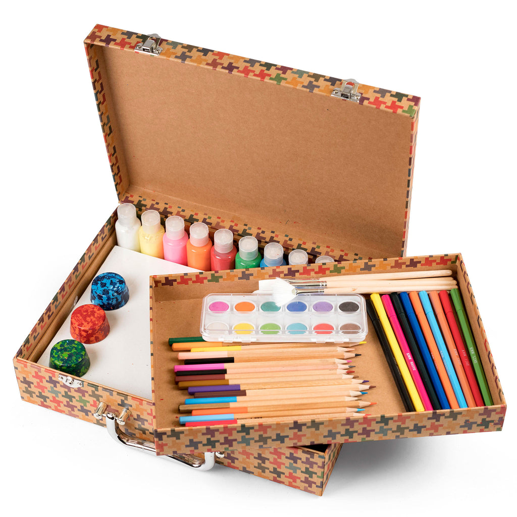 High Quality Art Supply Kit for Kids Arts and Crafts