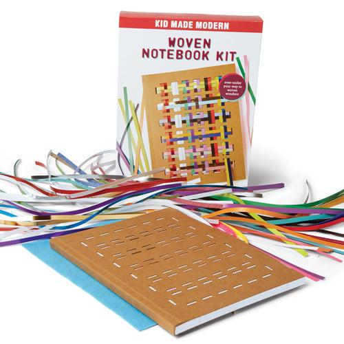 Woven Notebook Craft Kit