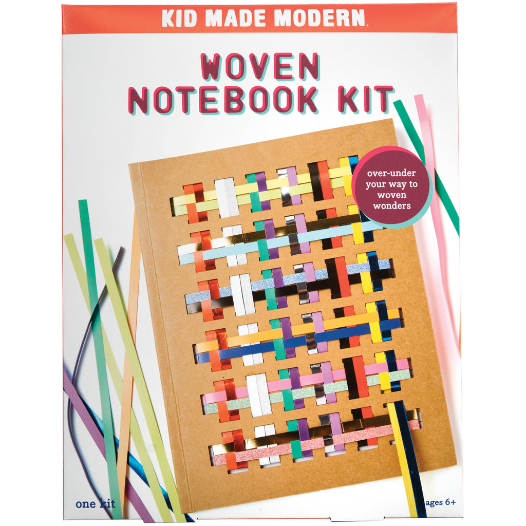 Kids Arts and Crafts Woven Notebook Kit