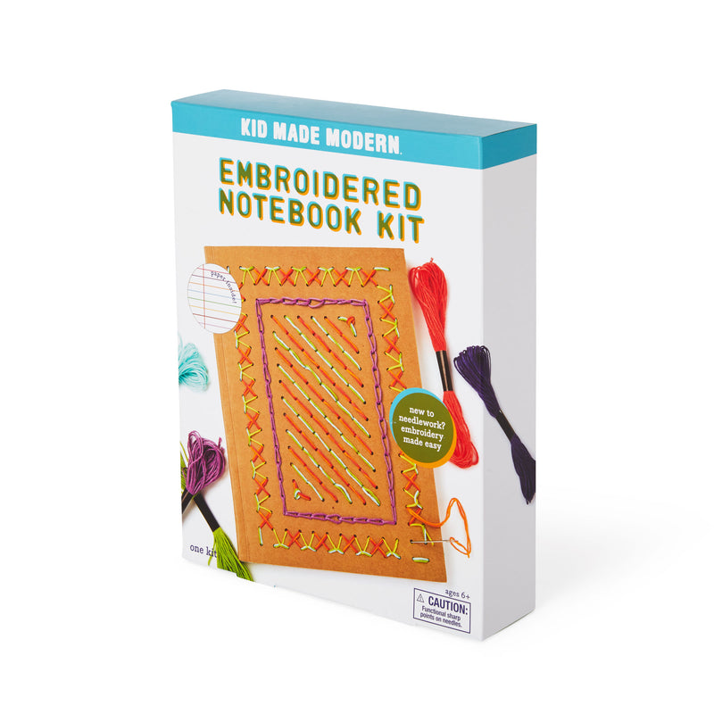 Embroidered Notebook Craft Kit