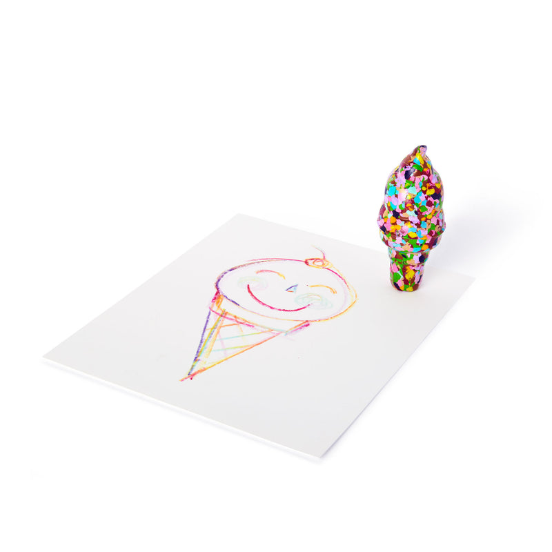 Ice Cream Crayon