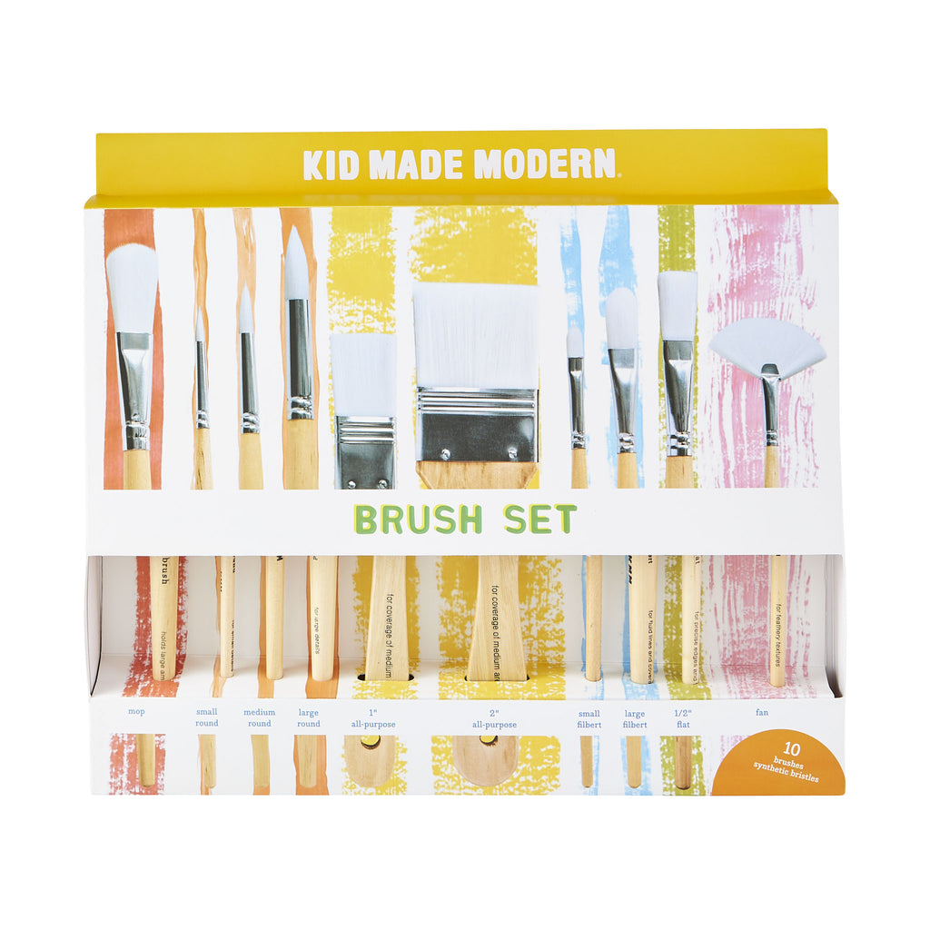 Paint Brush Set of 10