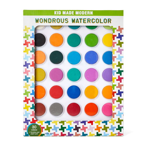 Wondrous Watercolor Kit (Set of 30)