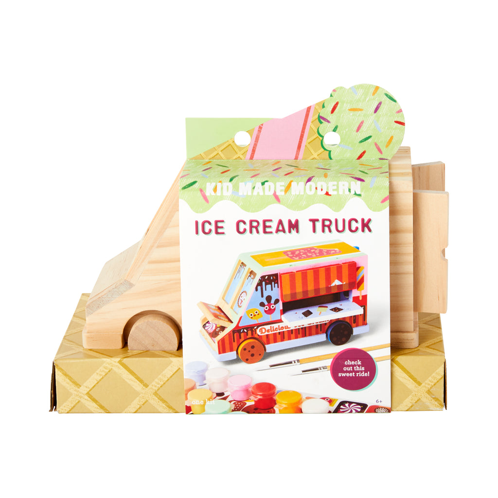 Paint Your Own Ice Cream Truck