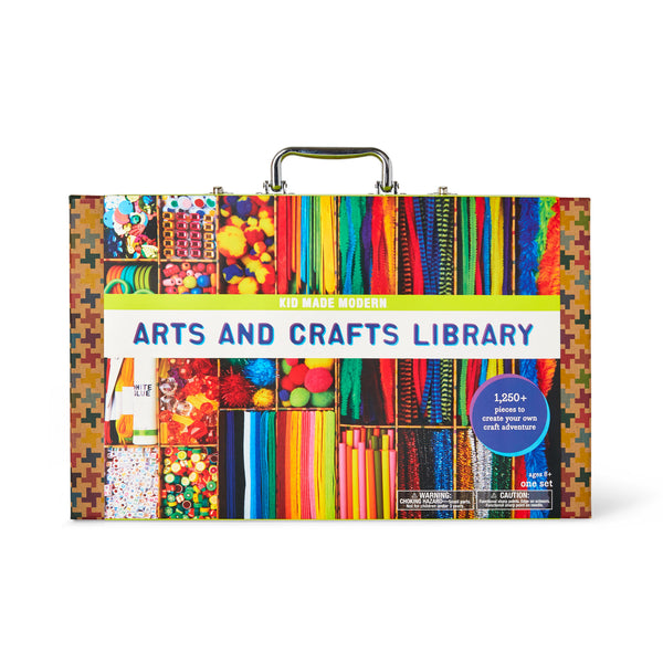 Arts And Crafts Supply Library Kid Made Modern
