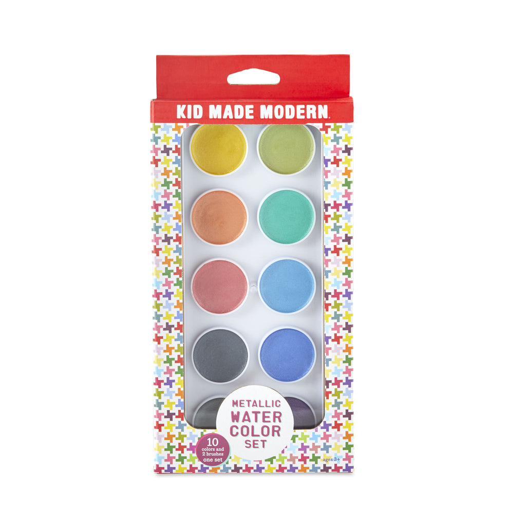 Metallic Watercolor Set (Set of 10)