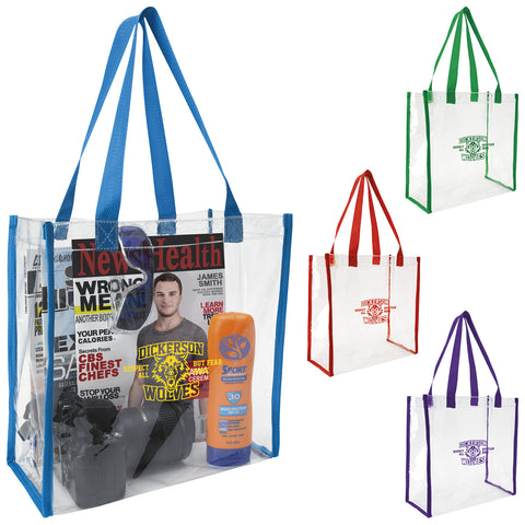Clear Game Tote-15735