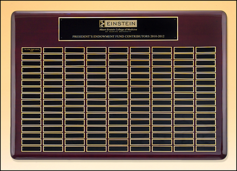 Perpetual Plaque Roster Series