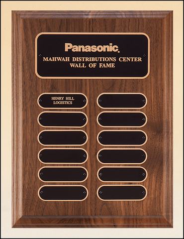 Perpetual Plaque with Oval 12 Plate Finish