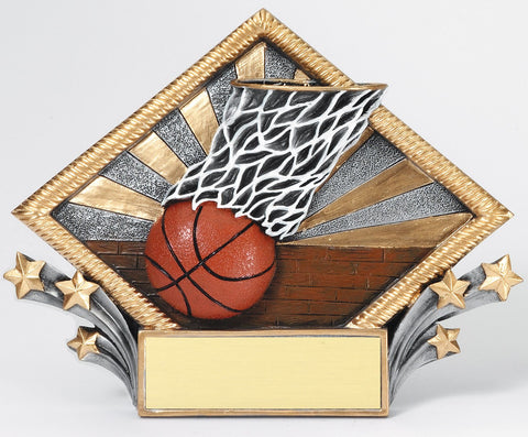 Basketball Resin Net Oval