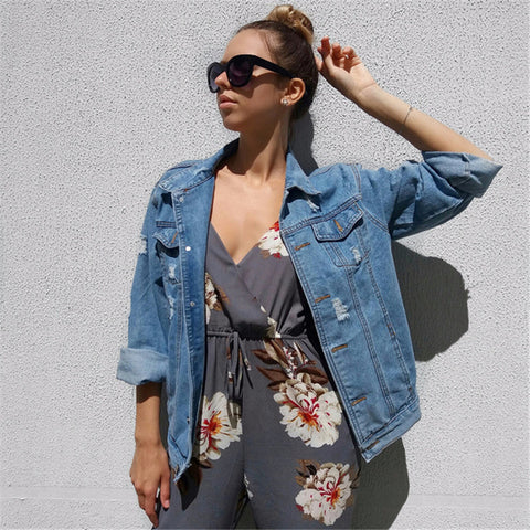 Urban Renewal Frayed Denim Jacket - Empire Finery