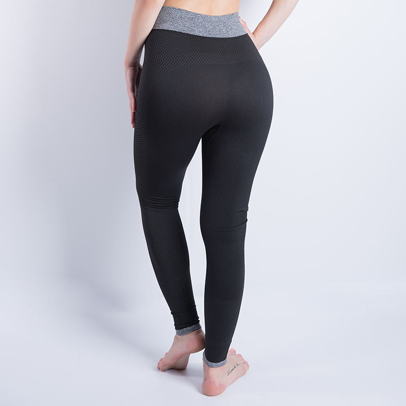 Stretchy Cropped High Waist Elastic Leggings - Empire Finery