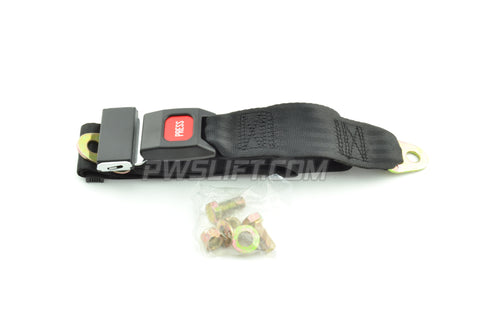 LAP SEAT BELT- LB-60-BLACK