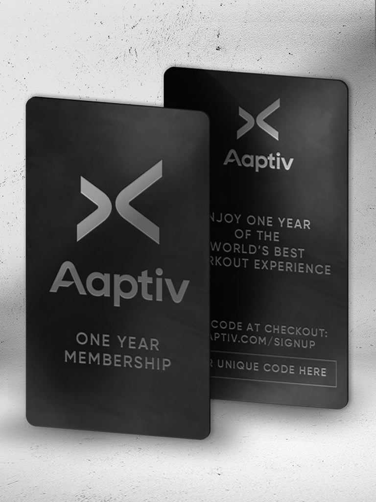 Aaptiv One Year Membership