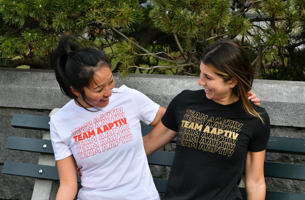 Team Aaptiv Graphic Tee