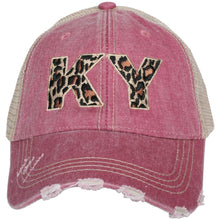 Load image into Gallery viewer, KY Leopard Hat (multiple colors)