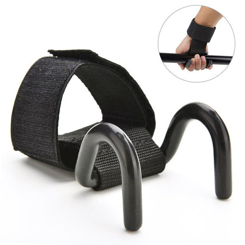 36cmX5cm Gloves Wrist Support Lift Straps Professional Dumbbell Weight lifting Bar Weight Lifting Training Gym Hook Grips Strap - Latest And Greatest