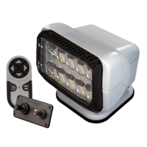Golight Permanent RadioRay LED w/Wireless & Dash Remote - White