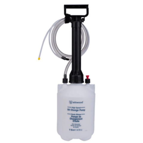 Attwood Oil Change Pump - 5 Quart