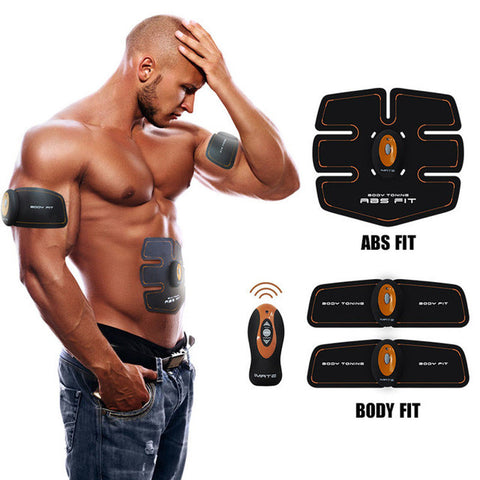 ABGymnic AB Gymnic Electronic Body Muscle Arm Waist Abdominal Massage Exercise Toning Belt Slim Abdominal trainer Machine Belt - Latest And Greatest