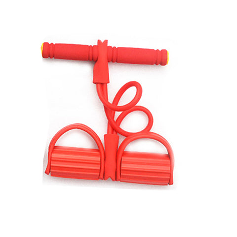 Body Exercise Equipment Resistance Bands Training Equipment Tube Workout Equipment Fitness Band Stretch Elastic Resistance Red - Latest And Greatest
