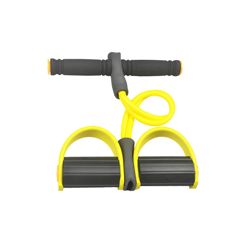 Body Exercise Equipment Resistance Bands Training Equipment Tube Workout Equipment Fitness Band Stretch Elastic Resistance Yellow - Latest And Greatest