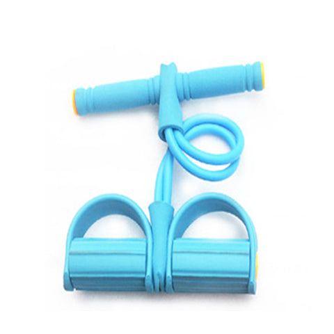 Body Exercise Equipment Resistance Bands Training Equipment Tube Workout Equipment Fitness Band Stretch Elastic Resistance Blue - Latest And Greatest