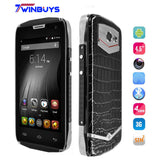"DOOGEE TITANS2 DG700 Waterproof Shockproof Dustproof  phone 4.5"" IP67 android 5.0 MTK6582 Quad core 1G RAM+8G ROM 3G OTG 4000mah - Latest And Greatest"