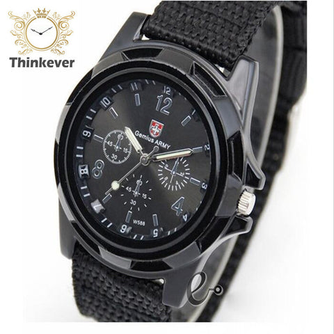 C0041 Famous Brand Men Outdoor Sport Quartz wristwatch Casual Fabric Watch Solider Military Army Watches Clock Relogio Masculino - Latest And Greatest