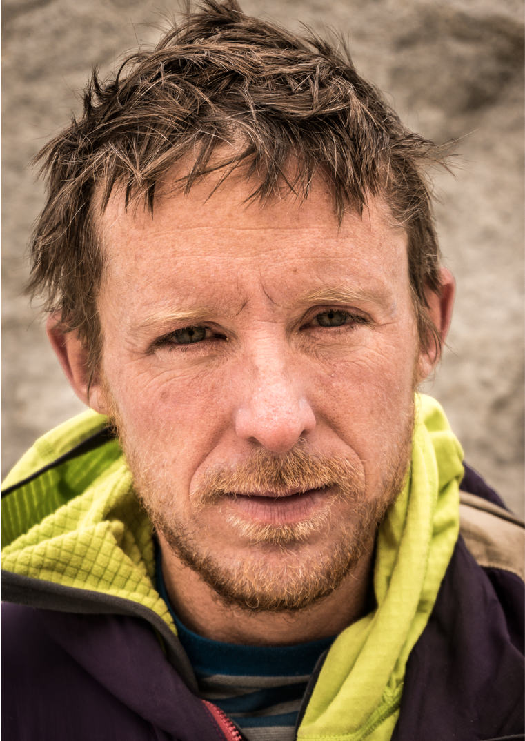 A portrait of Tommy Caldwell.