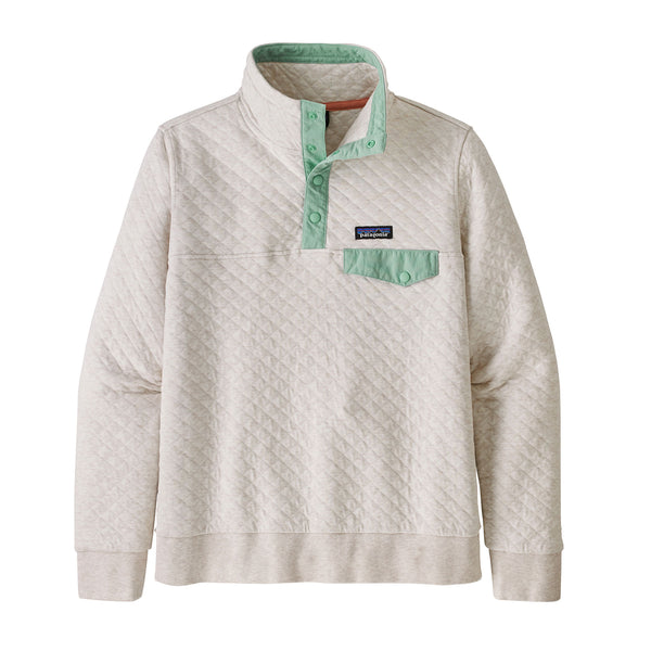 Women's Cotton Quilt Snap-T P/O