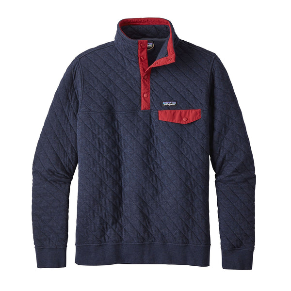 Men's Cotton Quilt Snap-T P/O