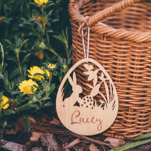 ENCHANTED EASTER TAG