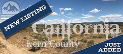 #L11027-1 2.5 Acres in Mojave, Kern County, CA $8,999.00 ($107.75 / Month)