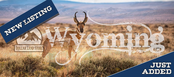 L07088-1 40 Rural Acres in Sweetwater County, Wyoming $12,500.00 ($242.08/Month)