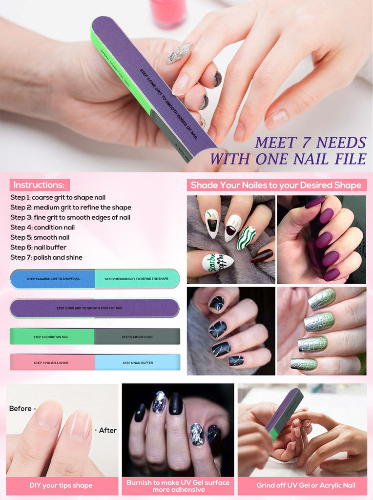 Nail File And Buffer Cosmetic Manicure FREE SHIPPING