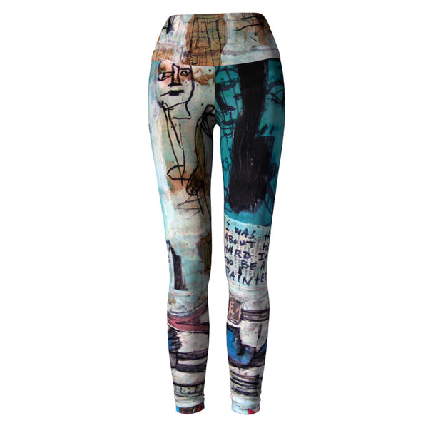 Art Yoga Leggings at Alpha Thread