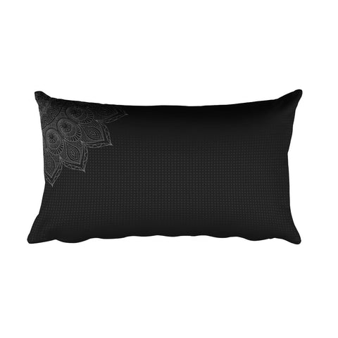 Dark Bliss Yoga Bolster at Alpha Thread